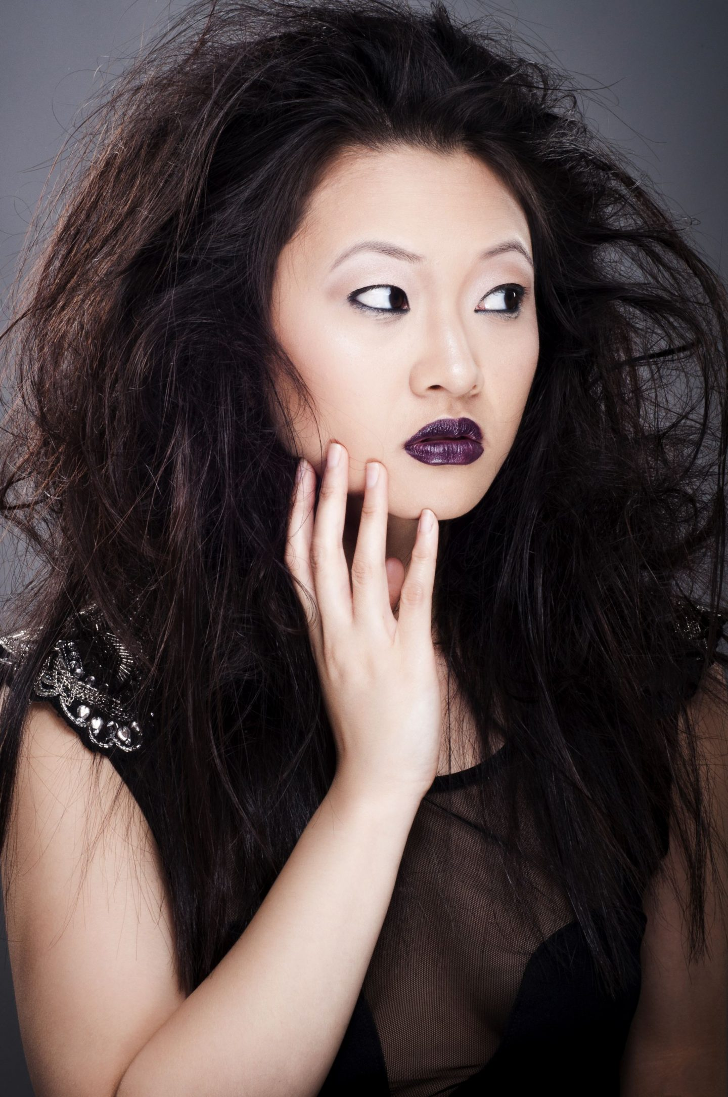How to wear purple lipstick The Wong Blog